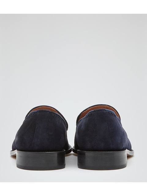 095d75156cc Anstice Blue Suede Tasselled Loafers