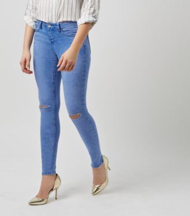 ripped ankle grazer jeans endource. Black Bedroom Furniture Sets. Home Design Ideas