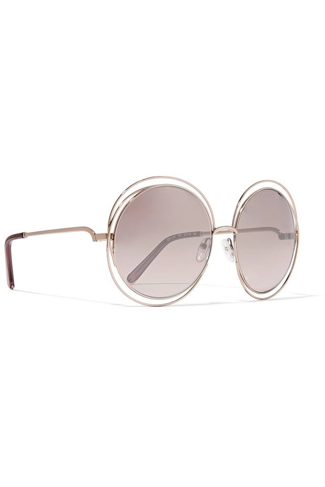 d52d71f882c Chloe Round Sunglasses Carlina