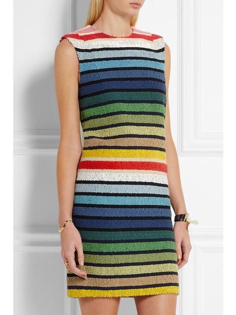 4036f750f Striped Rainbow Dress | Endource