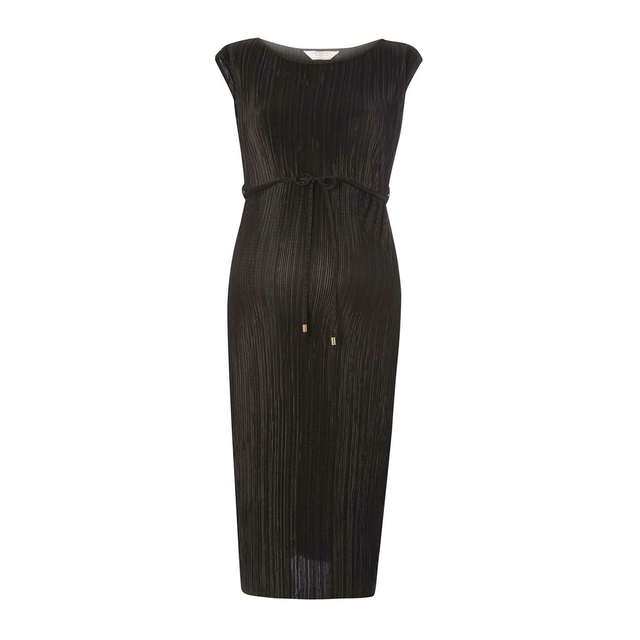 Dorothy perkins black midi dress