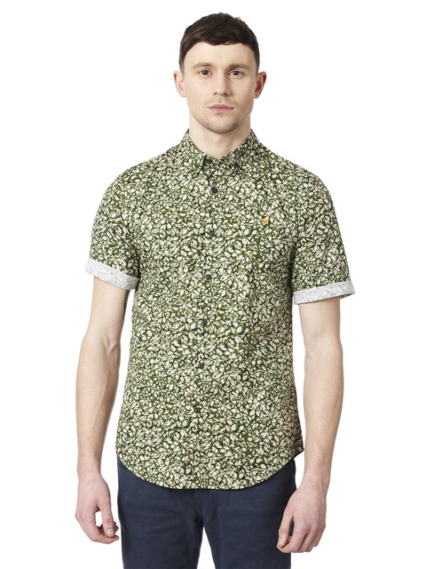 8d7cba60465 THE ASKRIGG SHORT SLEEVE PRINT SHIRT