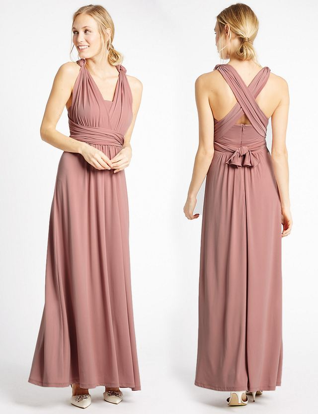 Multiway Strap Maxi Dress   Endource