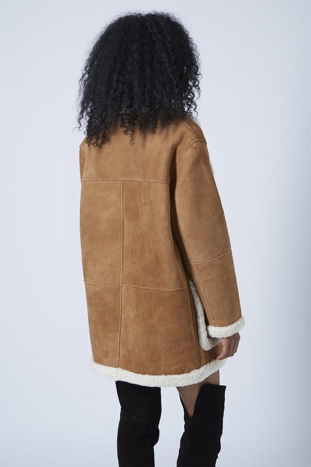 Topshop Shearling Coat | Endource