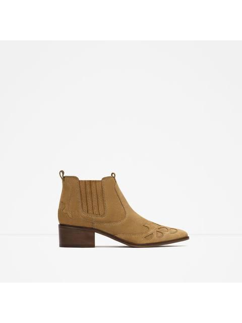 424e6a41a05 Cowboy Ankle Boots