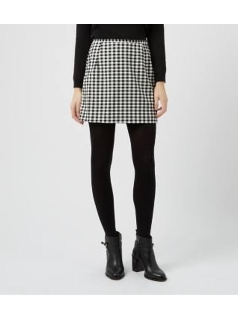 9ac68792b Monochrome Gingham A-Line Skirt | Endource