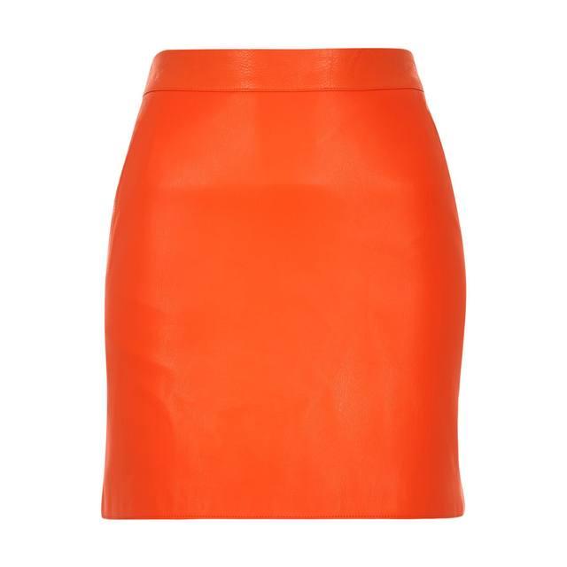 Leather-look Mini Skirt | Endource