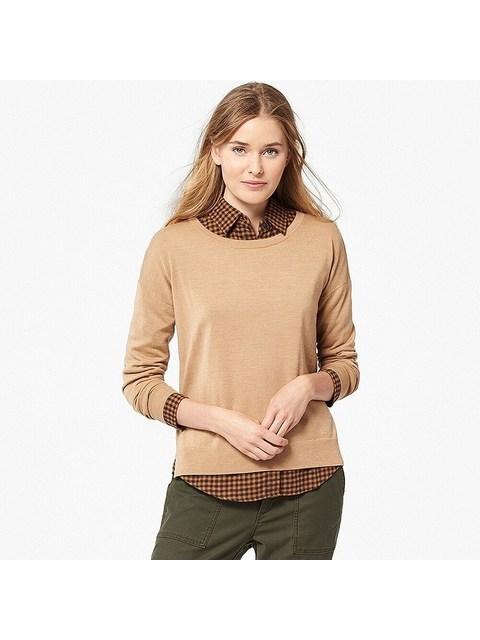 8fceac8af1 Extra Fine Merino Crew Neck Sweater