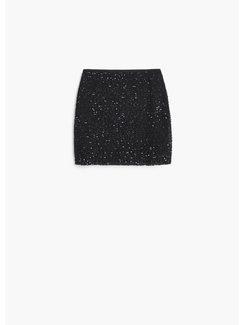 572762296c Sequin Skirt