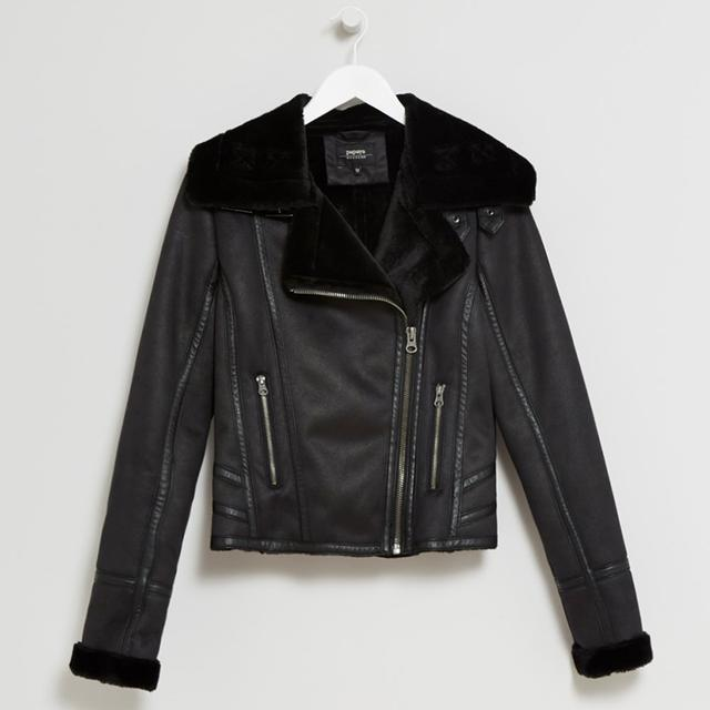 exquisite design kid how to buy Shearling Aviator Jacket