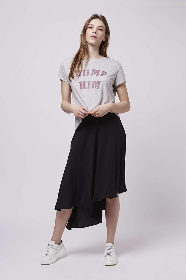 Asymmetric Midi Skirt | Endource