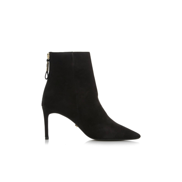 Buy Cheap Classic Free Shipping Fake London Oralia Suede Pointed Heeled Boots - Black Dune London Outlet Choice Low Shipping Fee Online Official For Sale bZRsQ