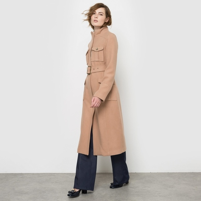 Belted Military Coat | Endource