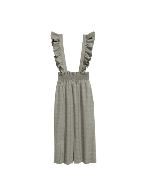 b6fdf1d802cd Pinafore Dress with Frills | Endource