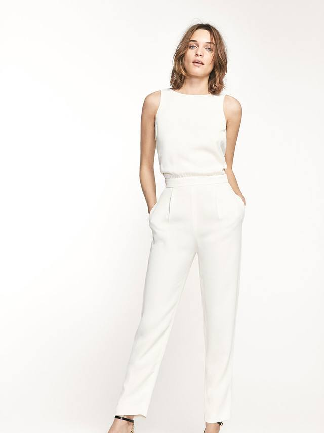 Bow detail jumpsuit endource - Jumpsuit hochzeit ...