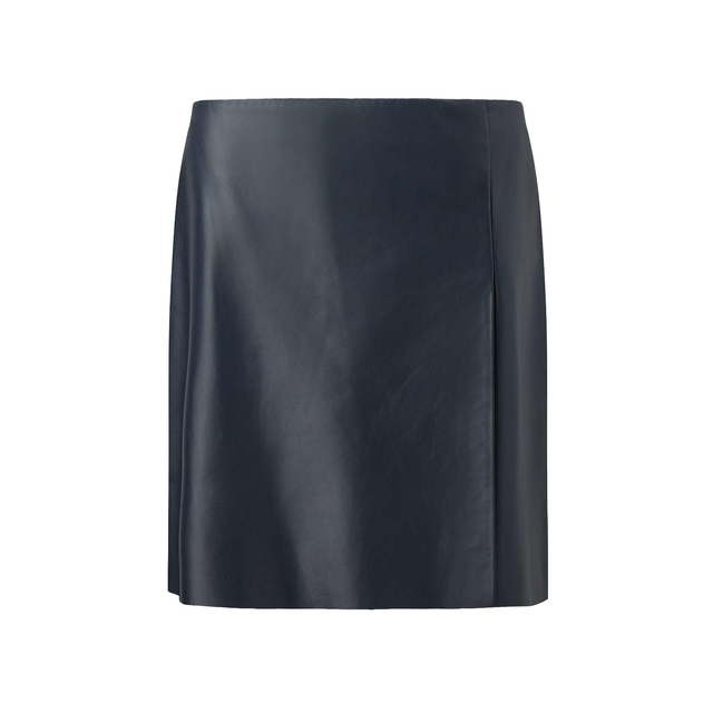 Leather Wrap Mini Skirt | Endource