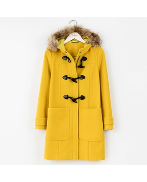 Carato trench coat endource for Boden yellow raincoat