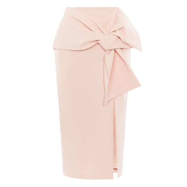 Pencil Skirt with Bow