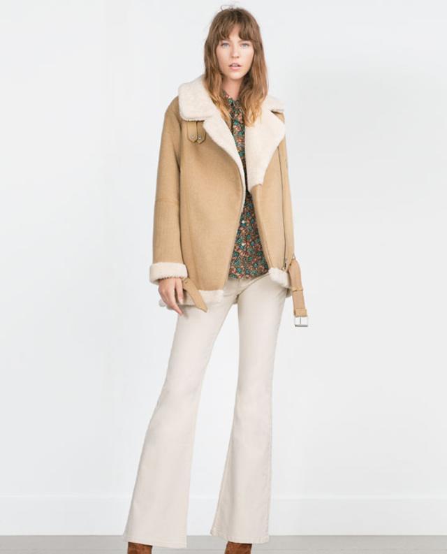 Oversized Sheepskin Jacket | Endource