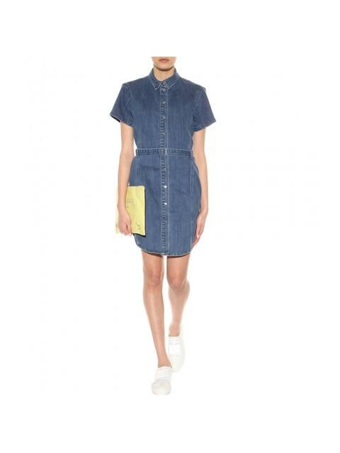 55419e2982 Denim Shirt Dress