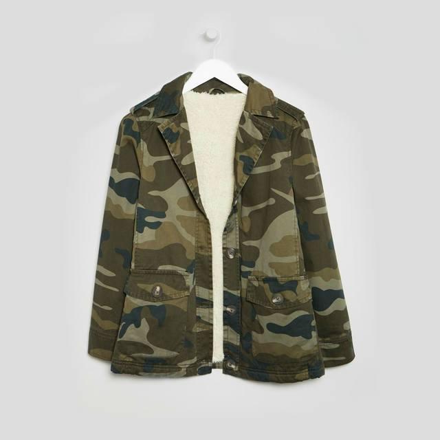 c18cb27c59 Camo Print Jacket | Endource