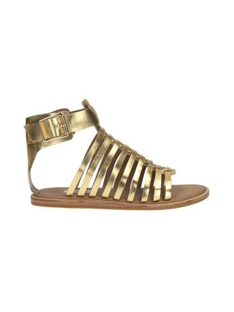6064a82770b Renee Ice Metallic Sandals