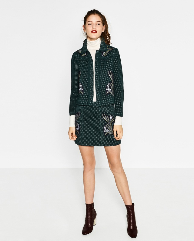 printed leather skirt endource