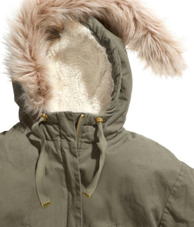 Pile-lined Parka by H&m