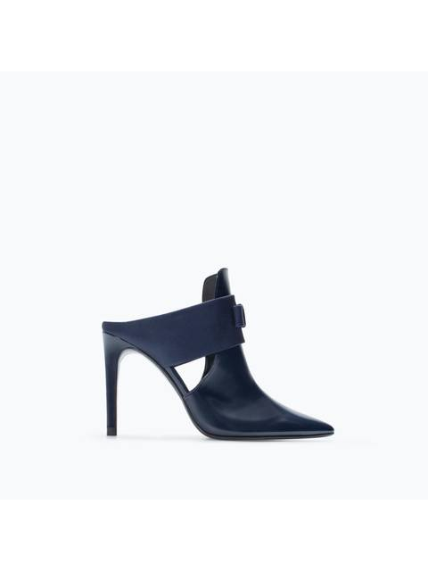 77fd548b7a6 High-Heeled mules with bow