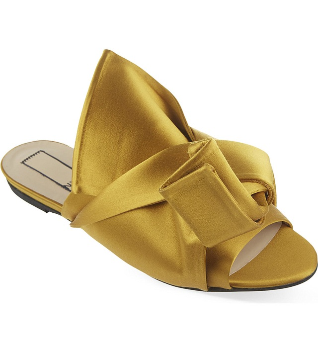 under 50 dollars No. 21 Satin Bow Sandals cheap sale from china H4D5z