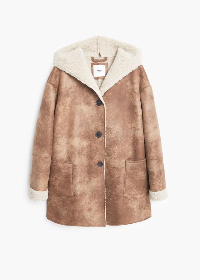 Shearling coat endource for Boden jennie coat