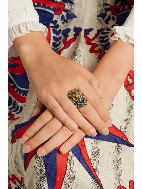 61e7571fe3c Lion Head Ring
