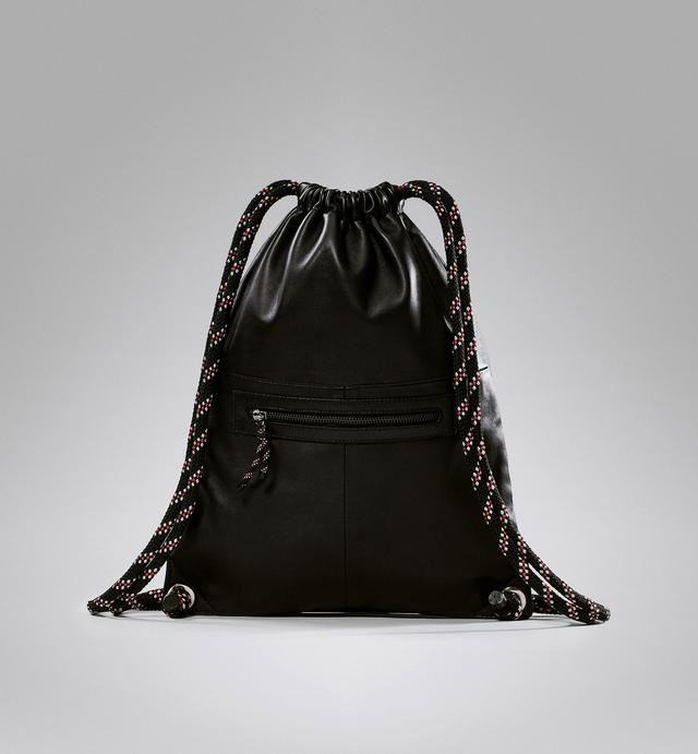 Leather Drawstring Backpack | Endource