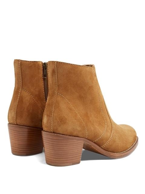 303a5b07a00a Cowboy Suede Ankle Boots