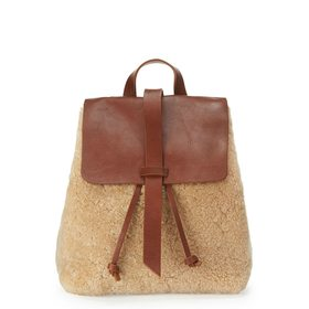 Blake Shearling Backpack by Jigsaw
