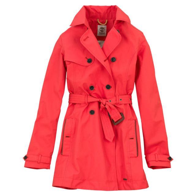 Waterproof trench coat women