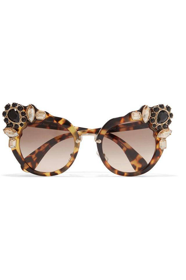 Miu Miu Cat Eye Sunglasses Tortoise   David Simchi-Levi a824085d12