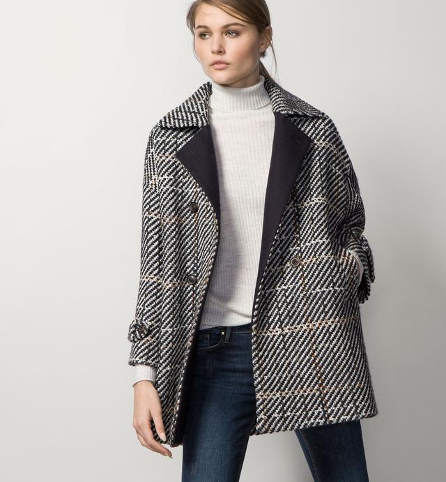 Fancy textured coat endource for Boden jennie coat