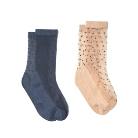 Polka Dot Socks by Mango
