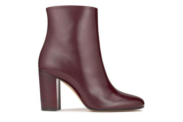 0233773f59058 Women's oxblood leather ankle boot