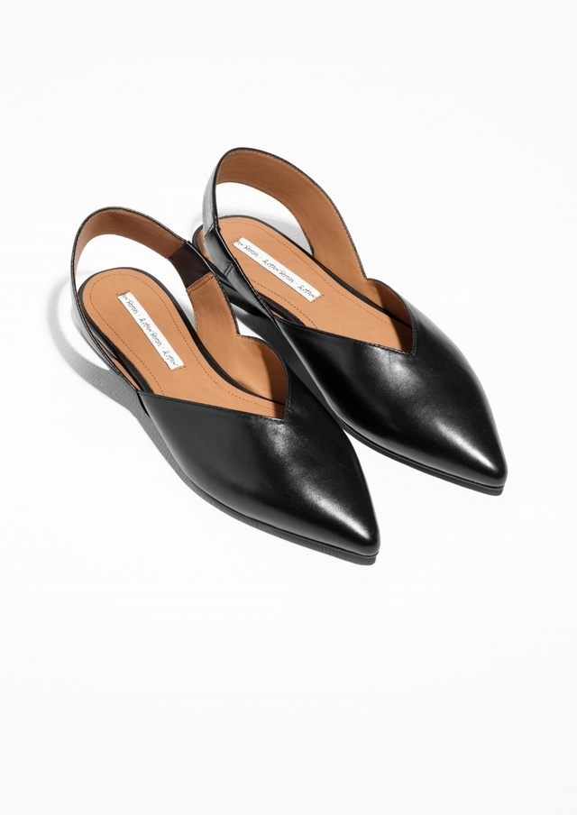 & OTHER STORIES Pointed Slingback Oxfords Xv4vgp2YN