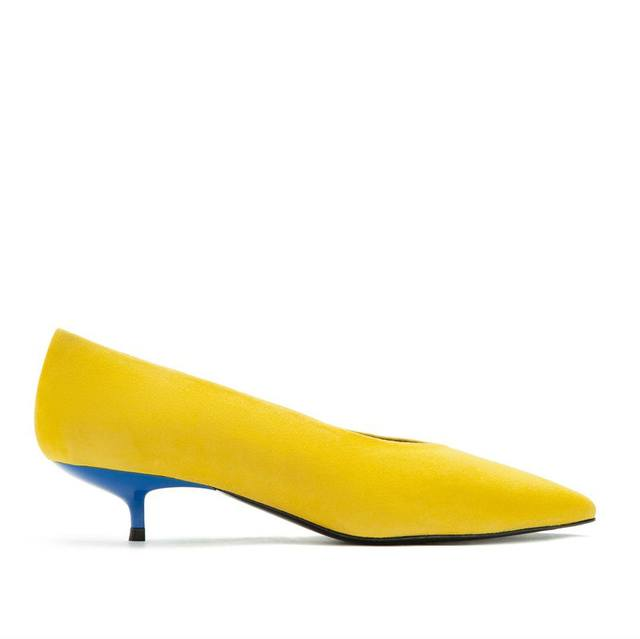 Yellow Court Shoes | Endource