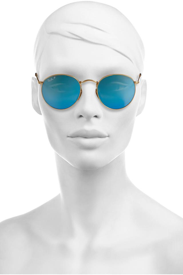 Ray Ban Mirror Round Sunglasses