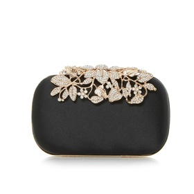 Embellished Clasp Clutch Bag by Dune London