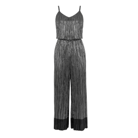 Metallic Plisse Jumpsuit by Warehouse
