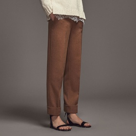 Limited Edition Trousers by Massimo Dutti