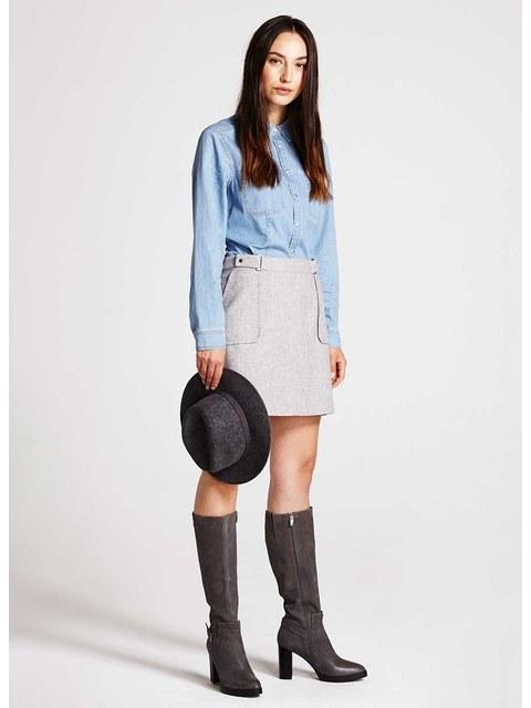 0630ad3e42 Patch Pocket Skirt