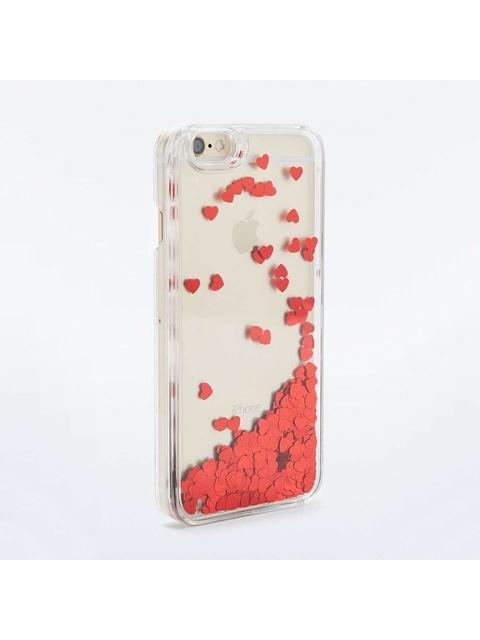 Glitter Hearts Iphone 6 Case Endource