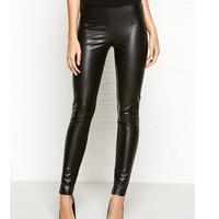 Next Leather Look Leggings