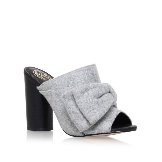 London Rebel Ghillie Point Kitten Heel Shoes